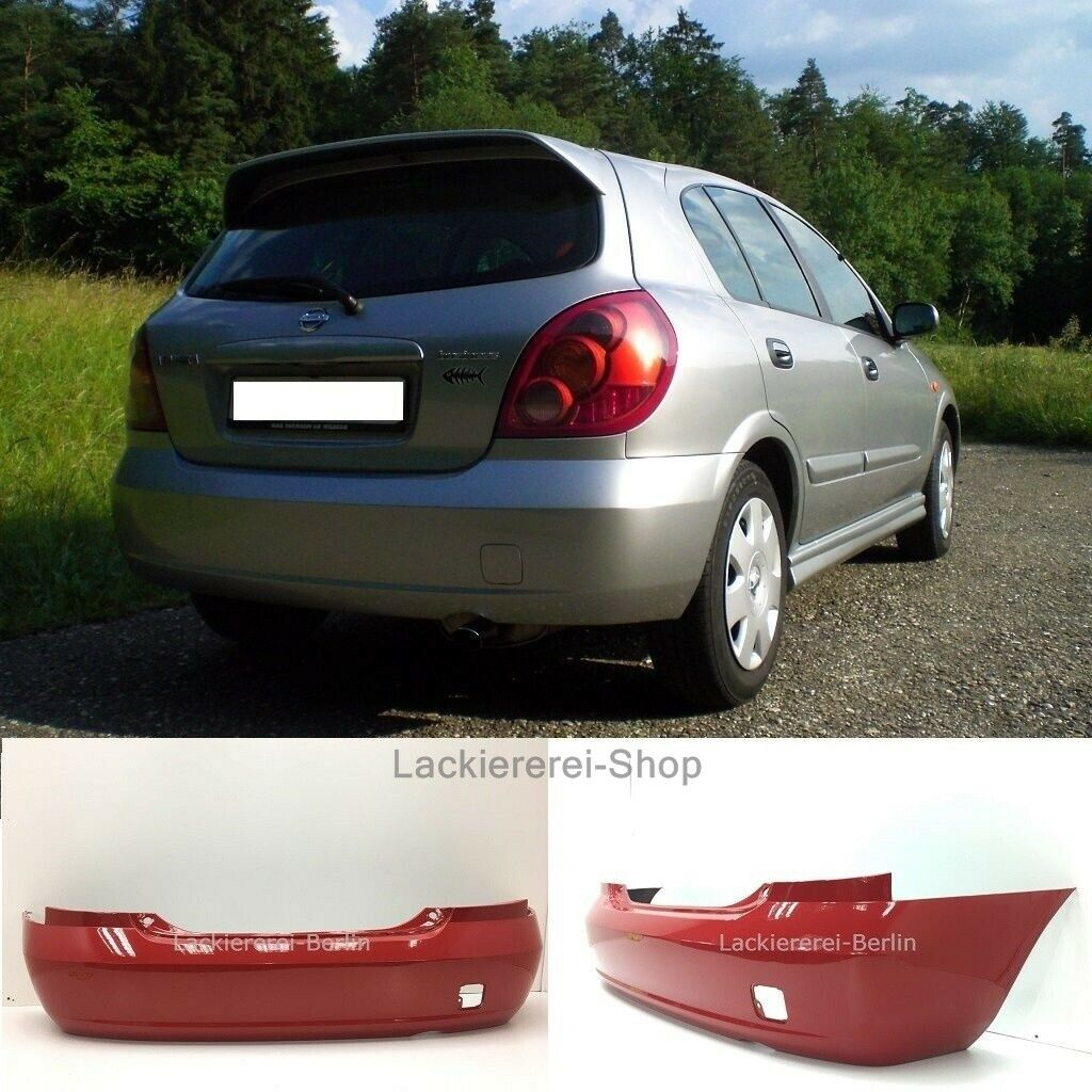 NEU Nissan Almera 2002-2006 STOßSTANGE Stoßfänger VORNE LACKIERT IN WUNSCHFARBE