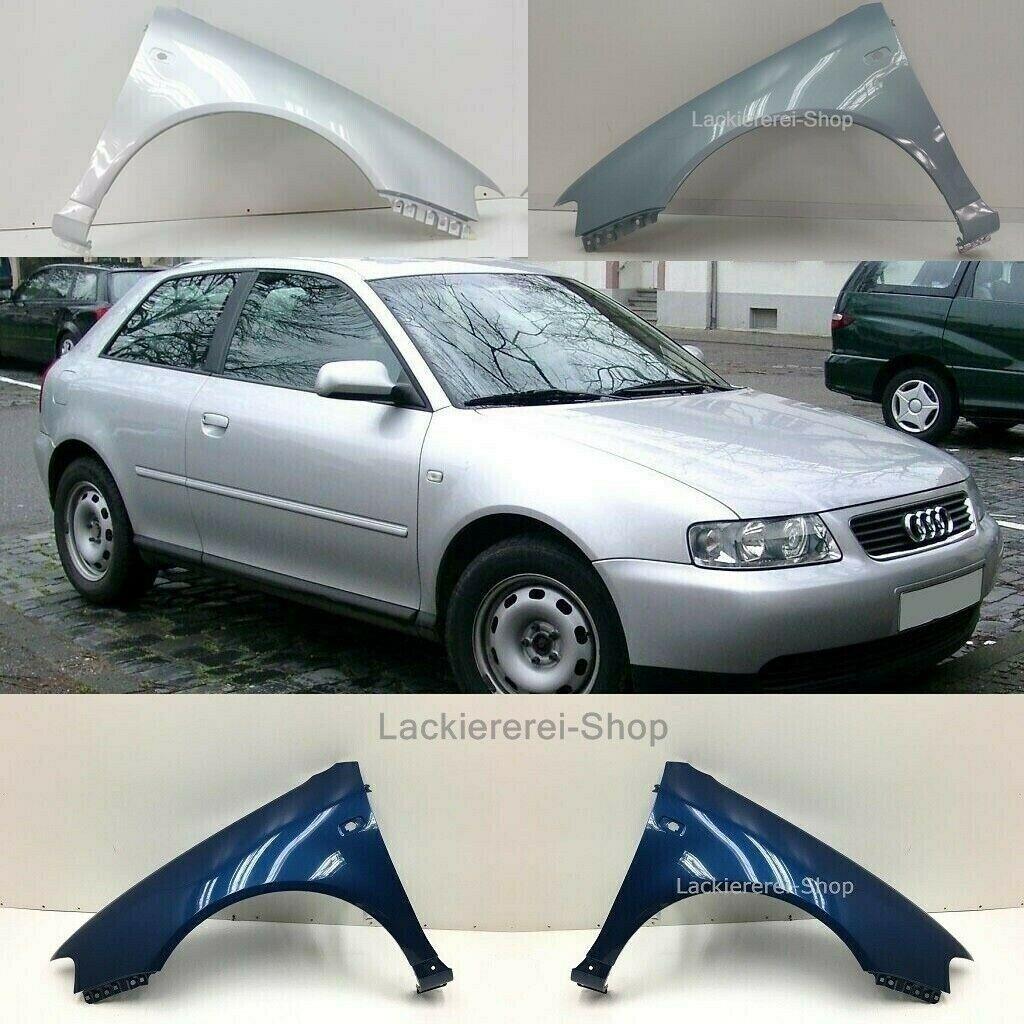 Kotflügel Vorne Rechts Lackiert in Ihrer Wunschfarbe für Audi A3 8l