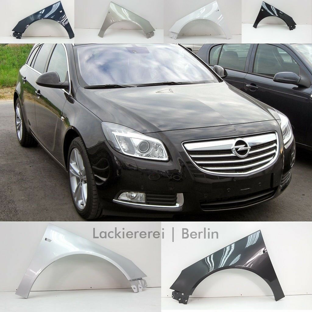 Lackiert in Wunschfarbe Stahl Kotflügel Vorne Rechts für Opel Insignia 08-/>