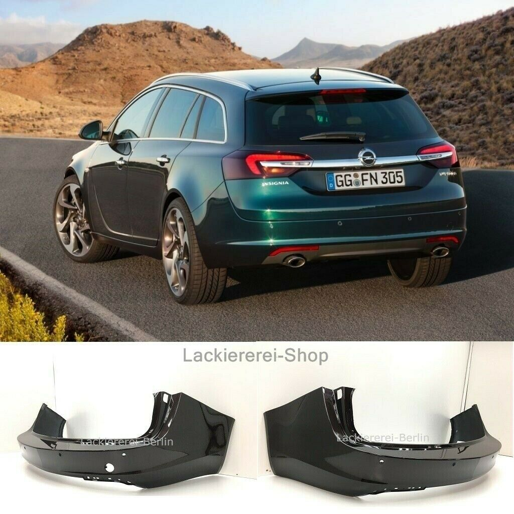 opel insignia sports tourer 13 16 pdc sto stange hinten lackiert in wunschfarbe lackiererei. Black Bedroom Furniture Sets. Home Design Ideas