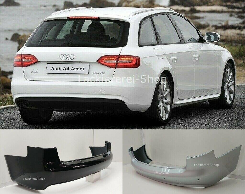 Audi A4 B8 Avant 2011 2015 Stossstange Hinten Lackiert In Wunschfarbe Neu Lackiererei Shop De